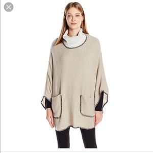 Steve Madden Poncho Sweater OSFM